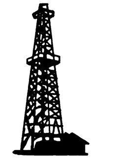 236x323 Oil Rig Clip Art Illustration Of Oil Derrick 2 On A White