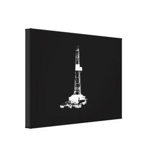 307x307 Drilling Rig Art Amp Framed Artwork Zazzle