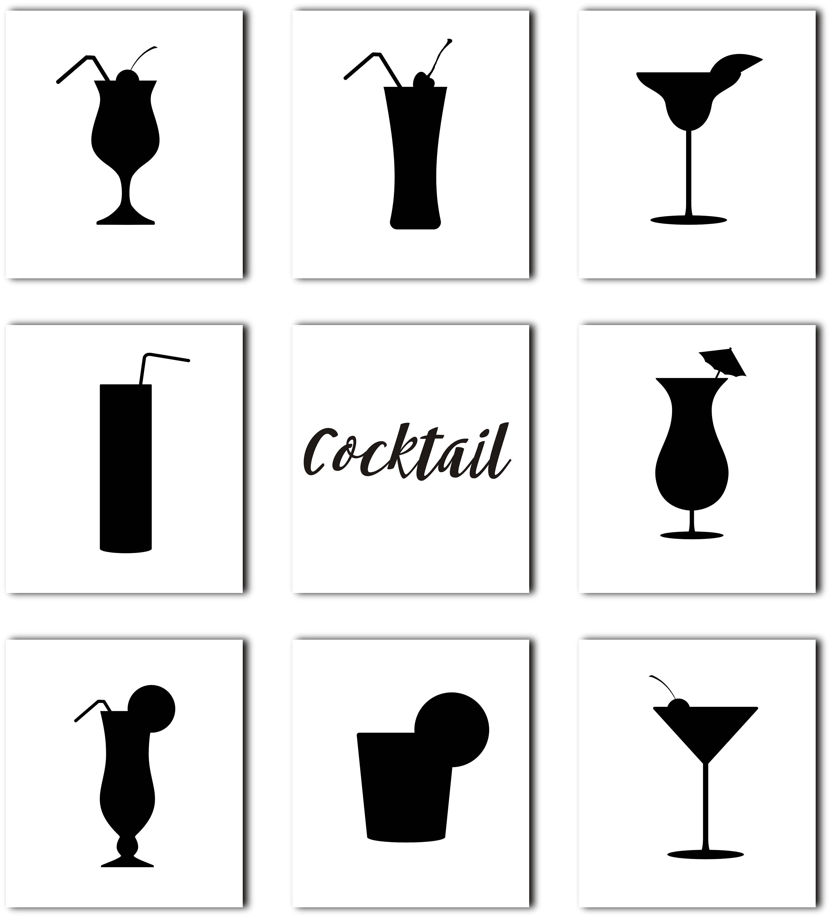 2718x3000 Wine Svg, Cocktail Silhouette Clipart, Drink Clipart, Wine Glass