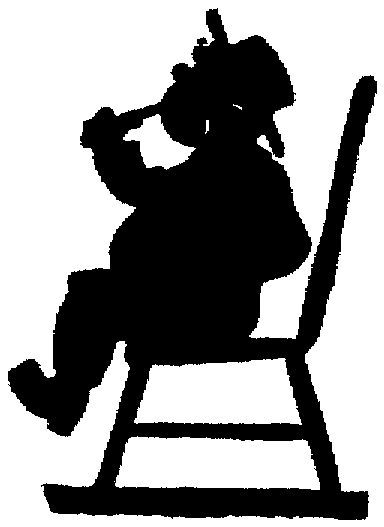384x527 Silhouette Child Boy Heavy Drinking Bottle Out Of Copyright
