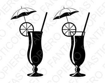 340x270 Tropical Drink Svg Etsy