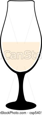 171x470 Vine Glass Silhouette Of Goblets With Wine Or Drinks Vector