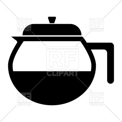 400x400 Capacity For Hot Drinks Black Icon Royalty Free Vector Clip Art