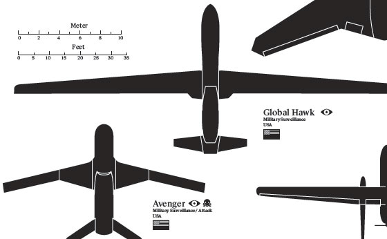 Drone Silhouette