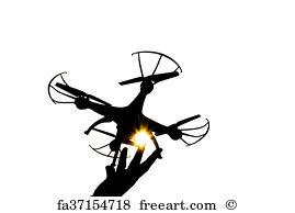 269x194 Free Drone Silhouette Art Prints And Wall Art Freeart