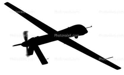 418x254 General Atomics Rq 1a Predator, Uav Silhouette, Logo, Uav, Shape