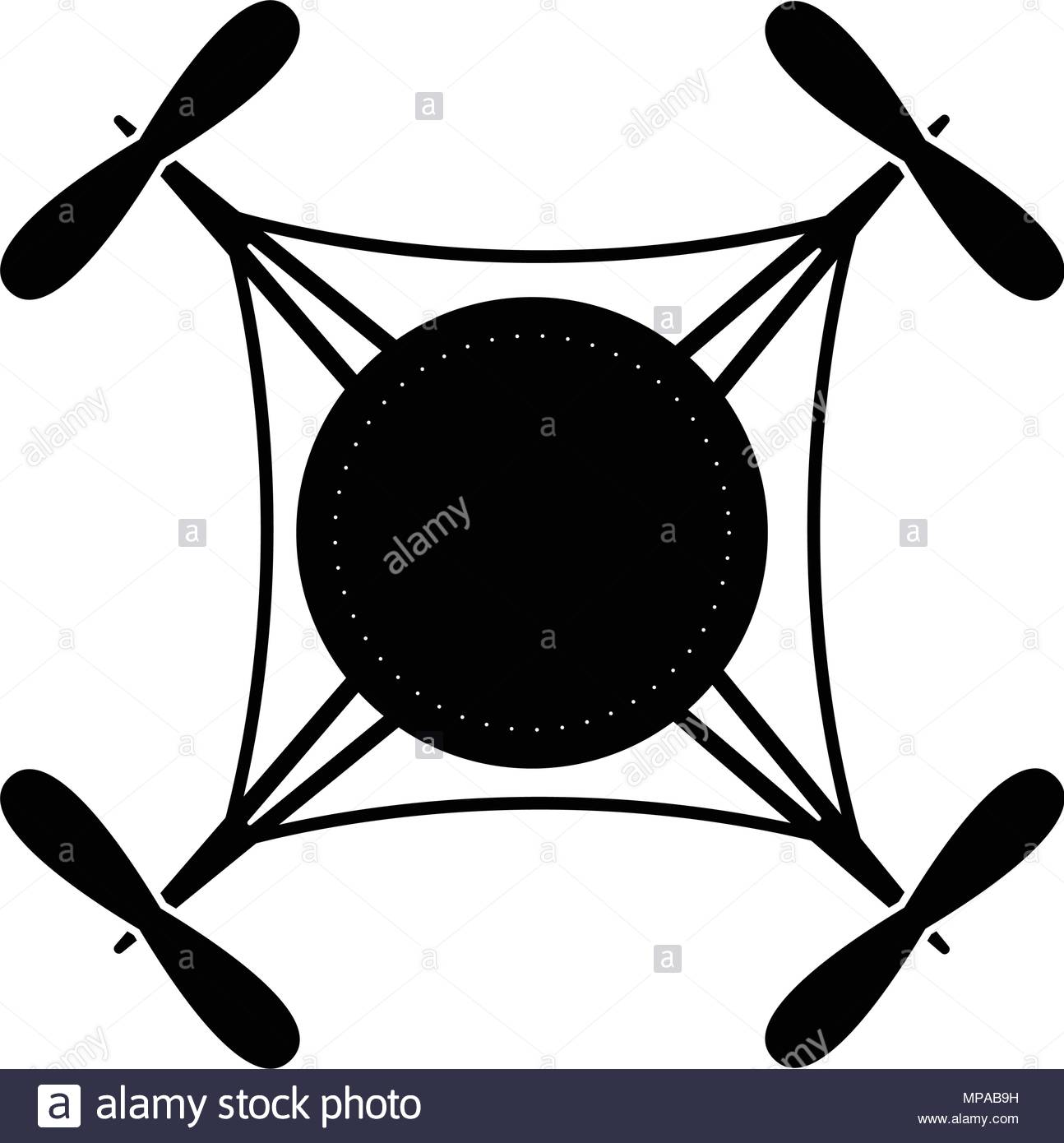 1294x1390 Quadcopter Silhouette Black And White Stock Photos Amp Images