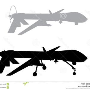 300x300 Vector Image Military Drone Remote Aircraft Lazttweet