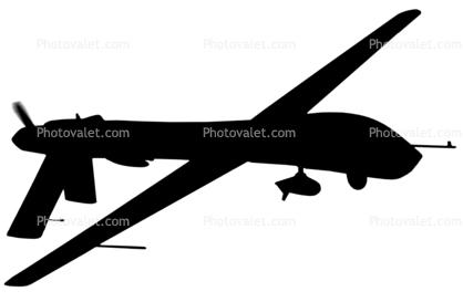 418x273 General Atomics Rq 1a Predator Silhouette, Logo, Uav, Shape Images