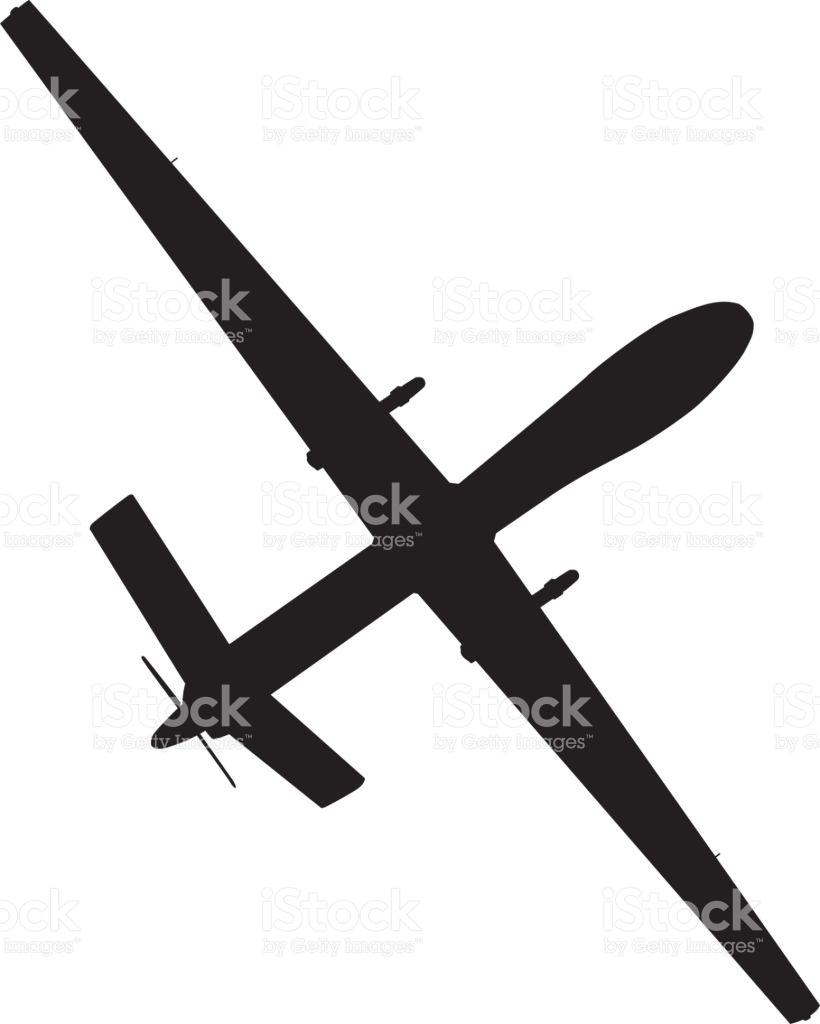 820x1024 Predator Drone Clipart
