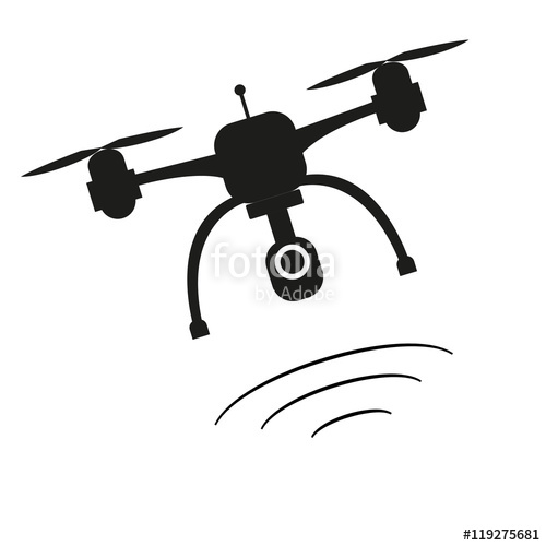 500x500 Dron Icon. Stock Image And Royalty Free Vector Files On Fotolia