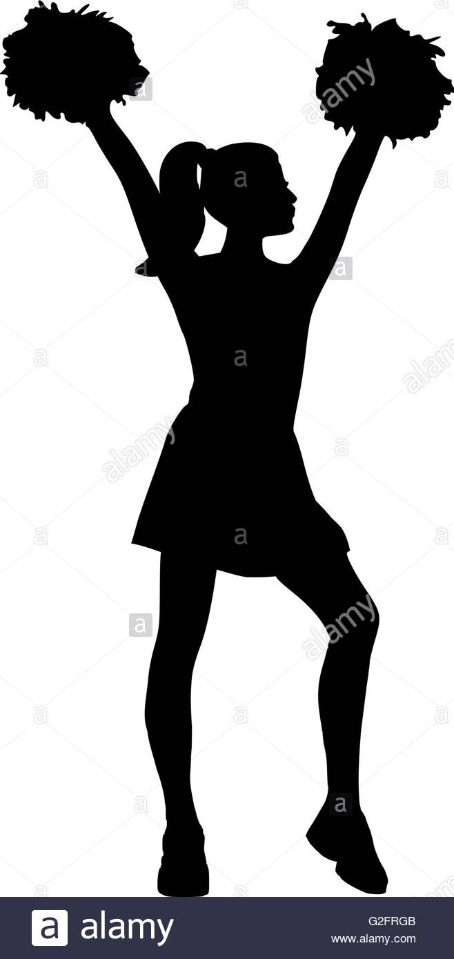 658x1390 Cheerleader Black And White Stock Photos Amp Images