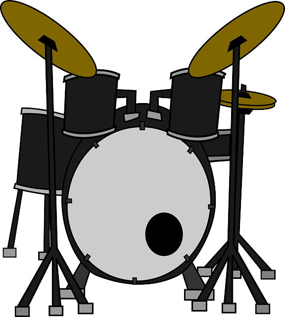 576x640 Music, Set, Outline, Drum, Drawing, Silhouette