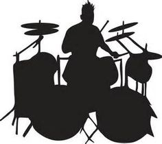 236x210 Drummer Silhouette Drummers And Drums