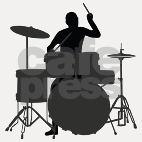 460x460 Drummer Shot Glass By Musicparty