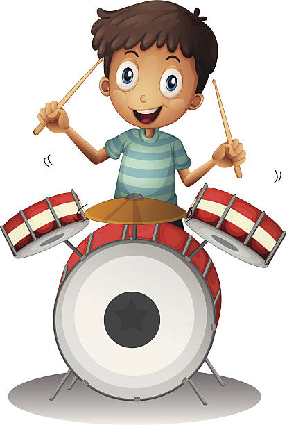 414x612 Clipart Drummer Boy