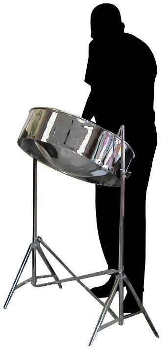341x709 Steel Drum Clipart