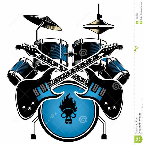 580x582 Tenor Drums Clipart