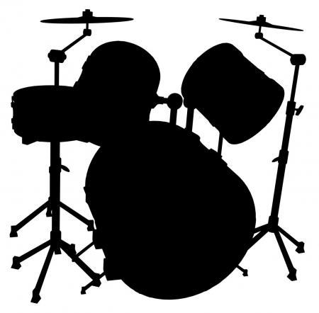 450x442 Drum Set Silhouette.jpg