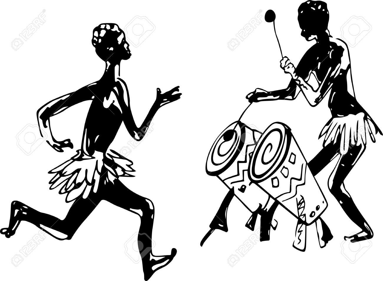 1300x954 Danse Clipart African Drum