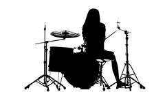 240x135 Drum Silhouette Stock Footage ~ Royalty Free Stock Videos Pond5