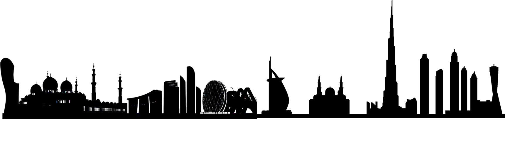 Dubai Silhouette