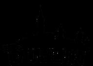 Dublin Skyline Silhouette