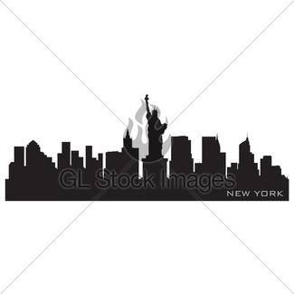 325x325 New Orleans, Louisiana Skyline. Detailed Vector Silhouette Gl