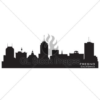 325x325 San Diego, California Skyline. Detailed Vector Silhouette Gl