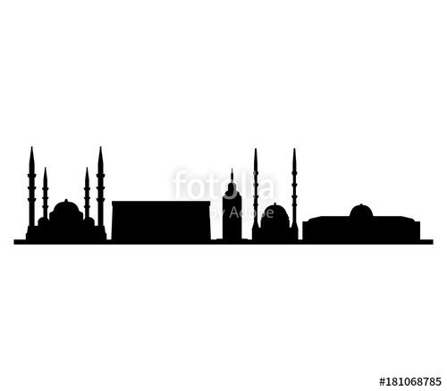 500x438 Skyline Ankara Stock Image And Royalty Free Vector Files