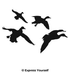 250x250 Waterfowl Auto And Wall Decals