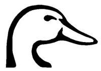 200x140 Best Duck Head Clipart Duck Head Silhouette