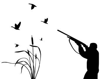 340x270 Duck Hunting Clipart Etsy Studio