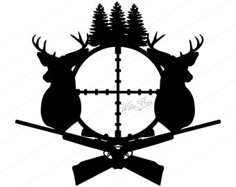 340x270 Hunting Clipart Etsy