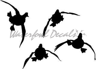 320x232 5010 T 24 Duck Hunting Trailer Decal Duck Hunting Wall Decal