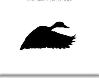 340x270 Mallard Duck Svg Etsy