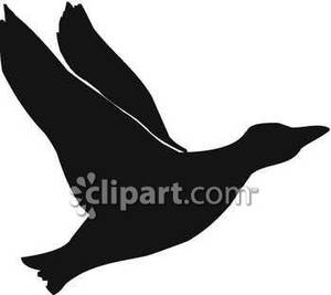 300x267 Flying Clipart Silhouette
