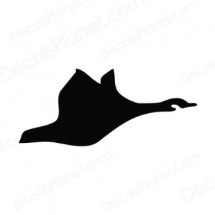 310x310 Flying Duck Silhouette Listed Clipart Panda
