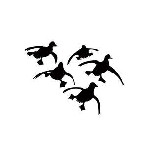 300x300 Flying Ducks Landing Hunting Decals Sticker Waterfowl Dynasty Duck
