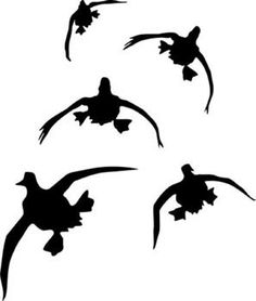 236x278 Collection Of Mallard Duck Silhouettes For Designers