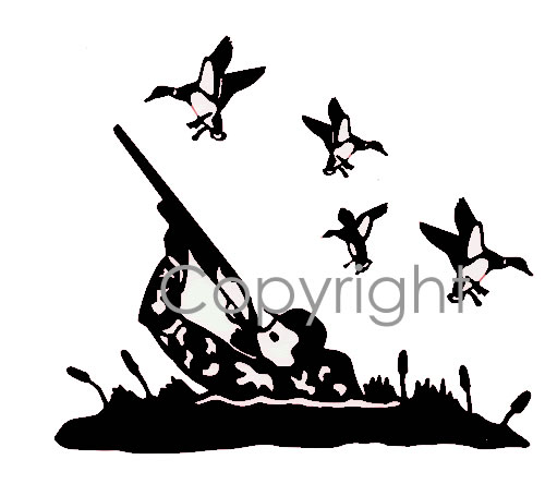 500x455 Duck Hunt! Decal