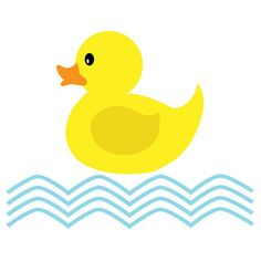 236x236 Premium Rubber Duck Clip Art Amp Digital Paper Set