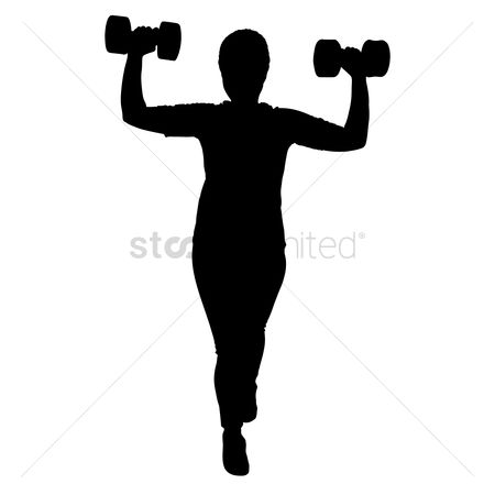 450x450 Free Dumbbell Stand Stock Vectors Stockunlimited