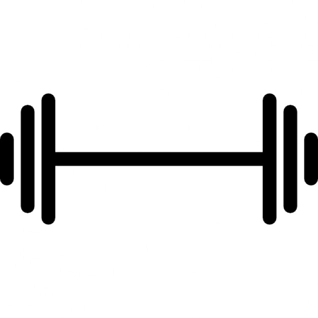 626x626 Dumbbell Variant Outline Icons Free Download