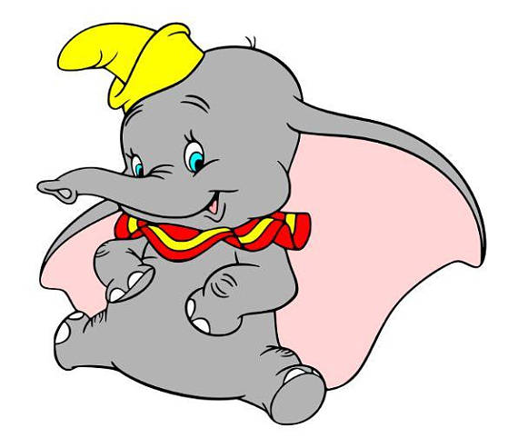 Dumbo Silhouette at GetDrawings com | Free for personal use Dumbo