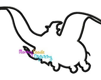 340x270 Dumbo Silhouette Etsy