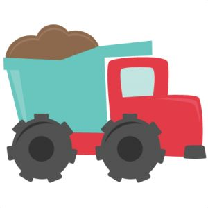 300x300 Dump Truck Clipart Image Silhouette Of A Cartoon Dump Truck Image