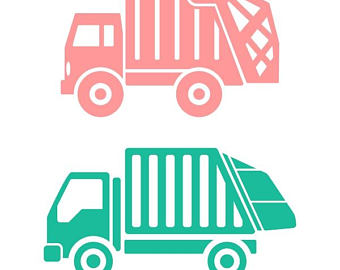 340x270 Dump Truck Stamp Etsy