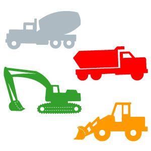 300x300 Construction Vehicles Blueprints