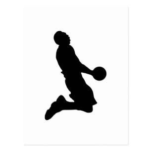 307x307 Slam Dunk Basketball Postcards Zazzle